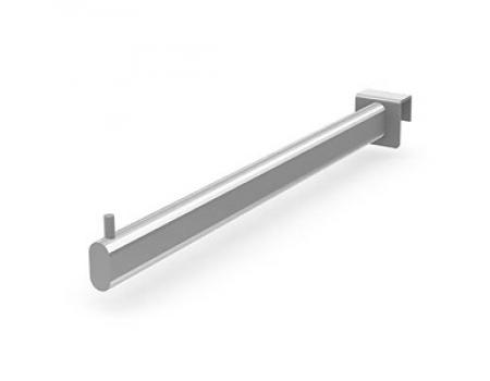 424 B24 /Кронштейн прямой на прямоугольную трубу (L-350)