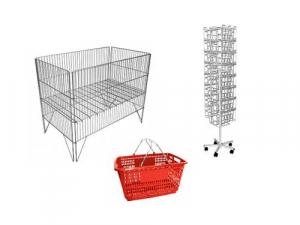 Накопители и стойки (корзины для распродаж) / Корзина покупателя